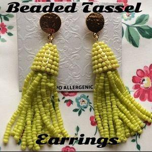 Jewelry - Trending: Beaded Tassel Earrings